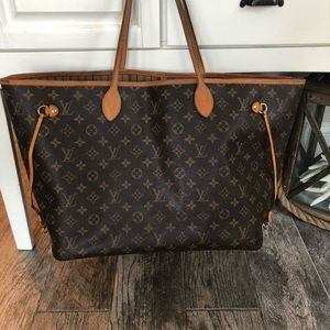 💯% Authentic Louis Vuitton Neverfull GM